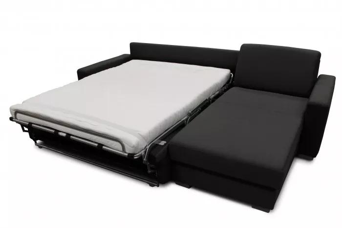 Na každodenní spaní je vhodná sedačka s opravdovou matrací. Sedačka Nina