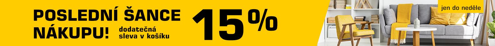 SLEVA 15 % ❤
