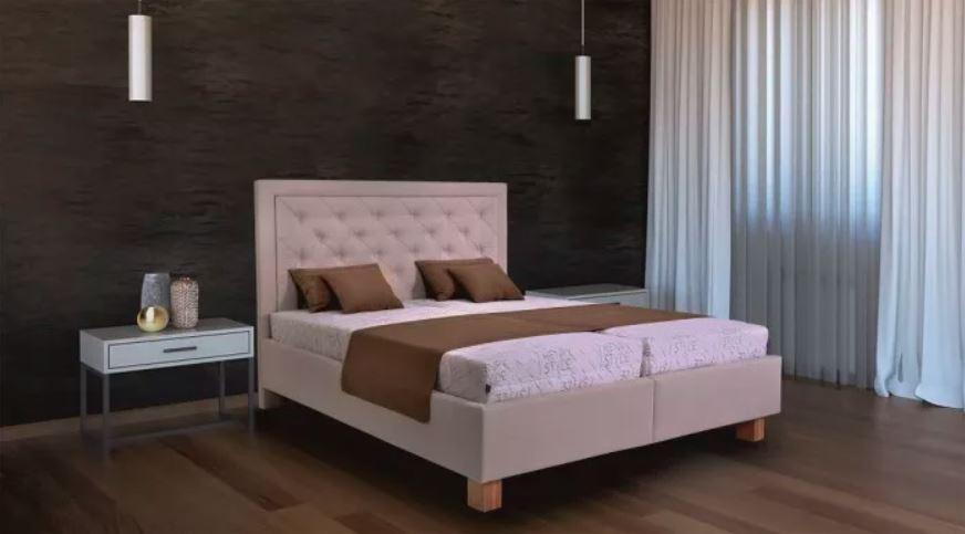 Čalouněná postel Elizabeth