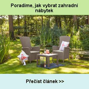 Poradíme, jak vybrat zahradní nábytek