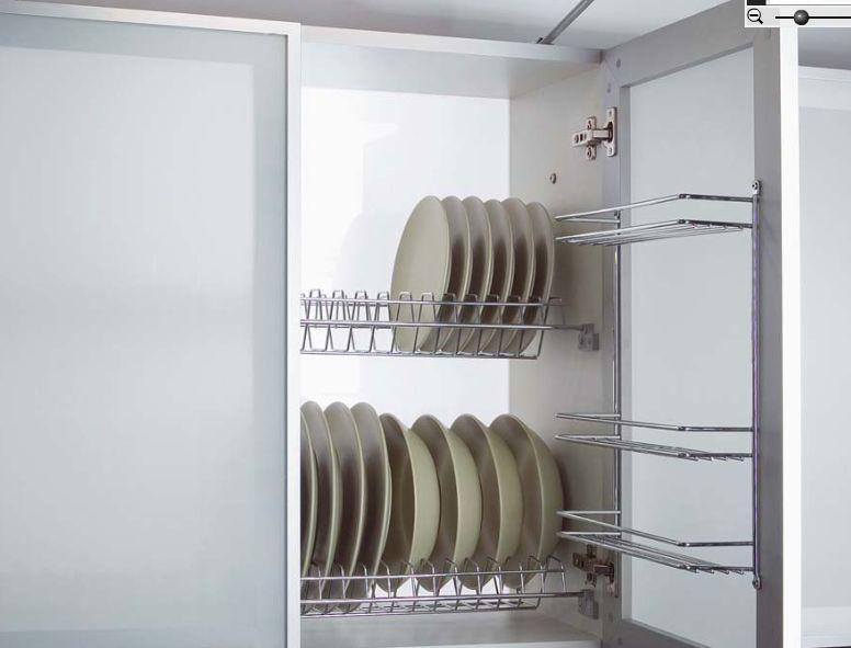 Drátěný program vhodný pro horní skříňky kuchyní.