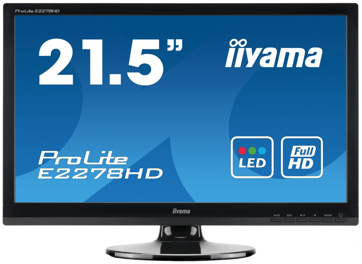 """22"""" iiyama ProLite E2278HD"""