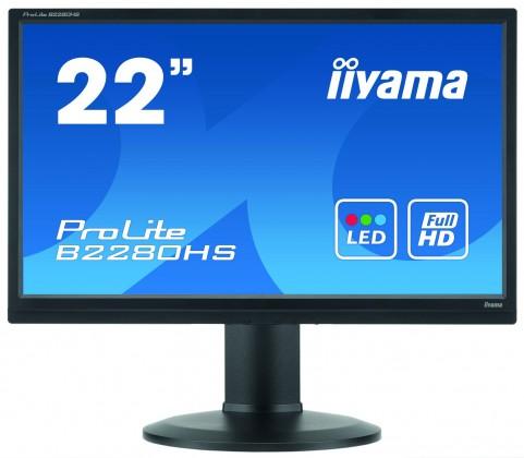 """22""""LCD iiyama B2280HSB1"""