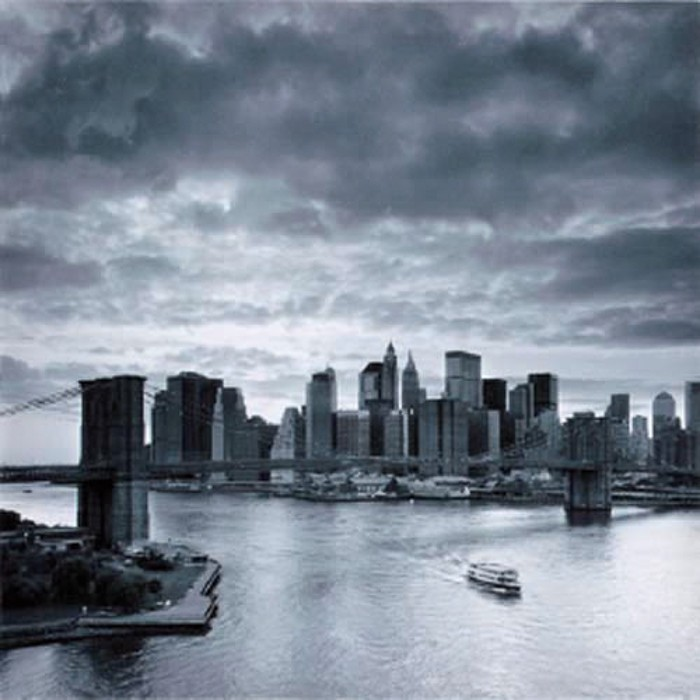 3 dílný obraz New York 2 40x40 cm