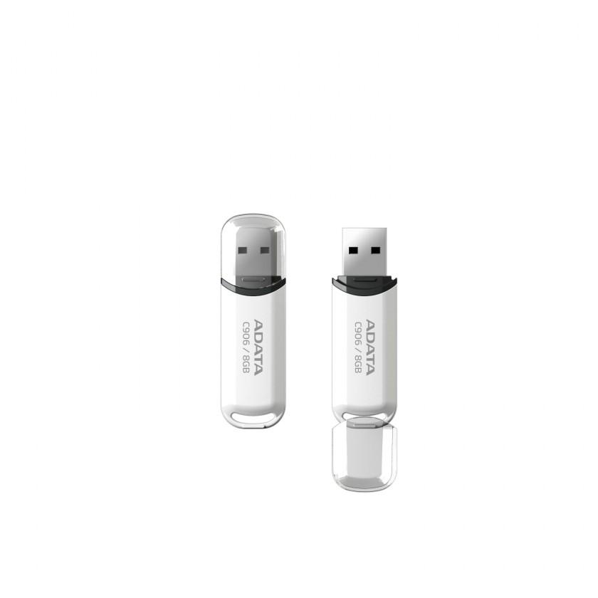 A-DATA C906 8GB, bílý