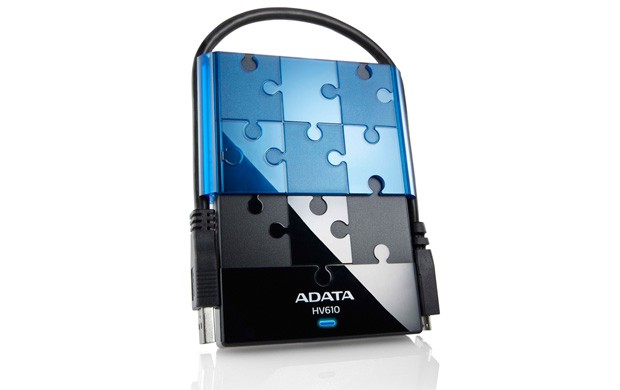 """A-data Hv610 750gb, 2,5"""", Usb3-0, Ahv610-750gu3"""