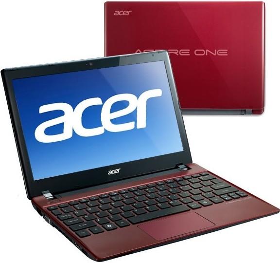 Acer Aspire One 756-B847Crr červená (NU.SH4EC.001)