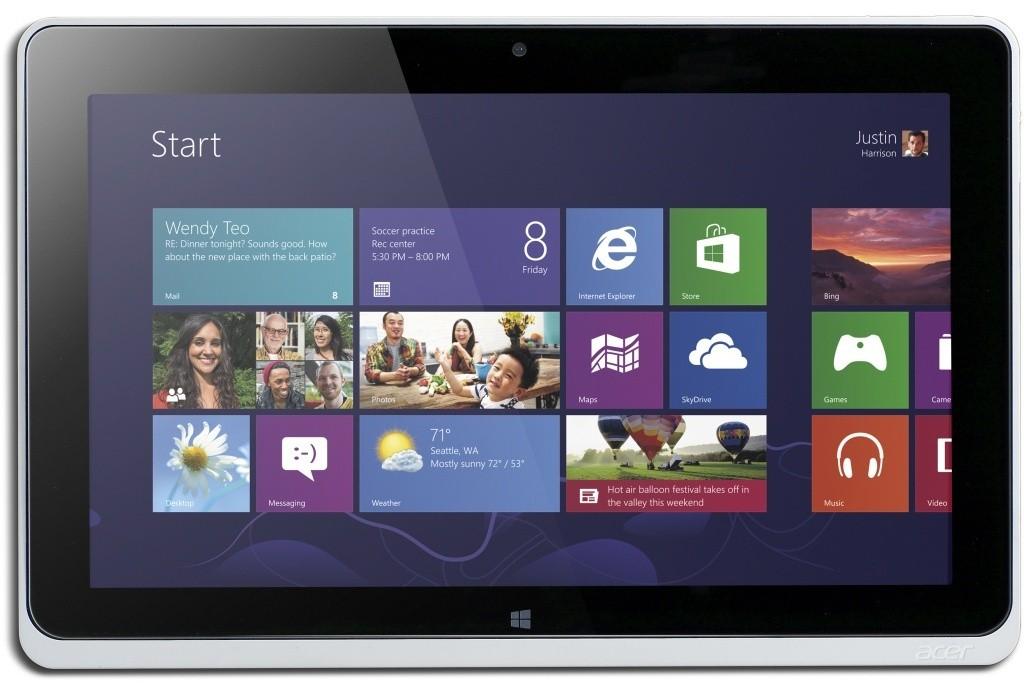 Acer Iconia Tab W510 (NT.L0MEC.001) stříbrný