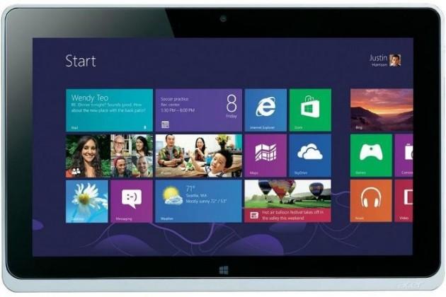 Acer Iconia Tab W510P (NT.L0SEC.001) stříbrný
