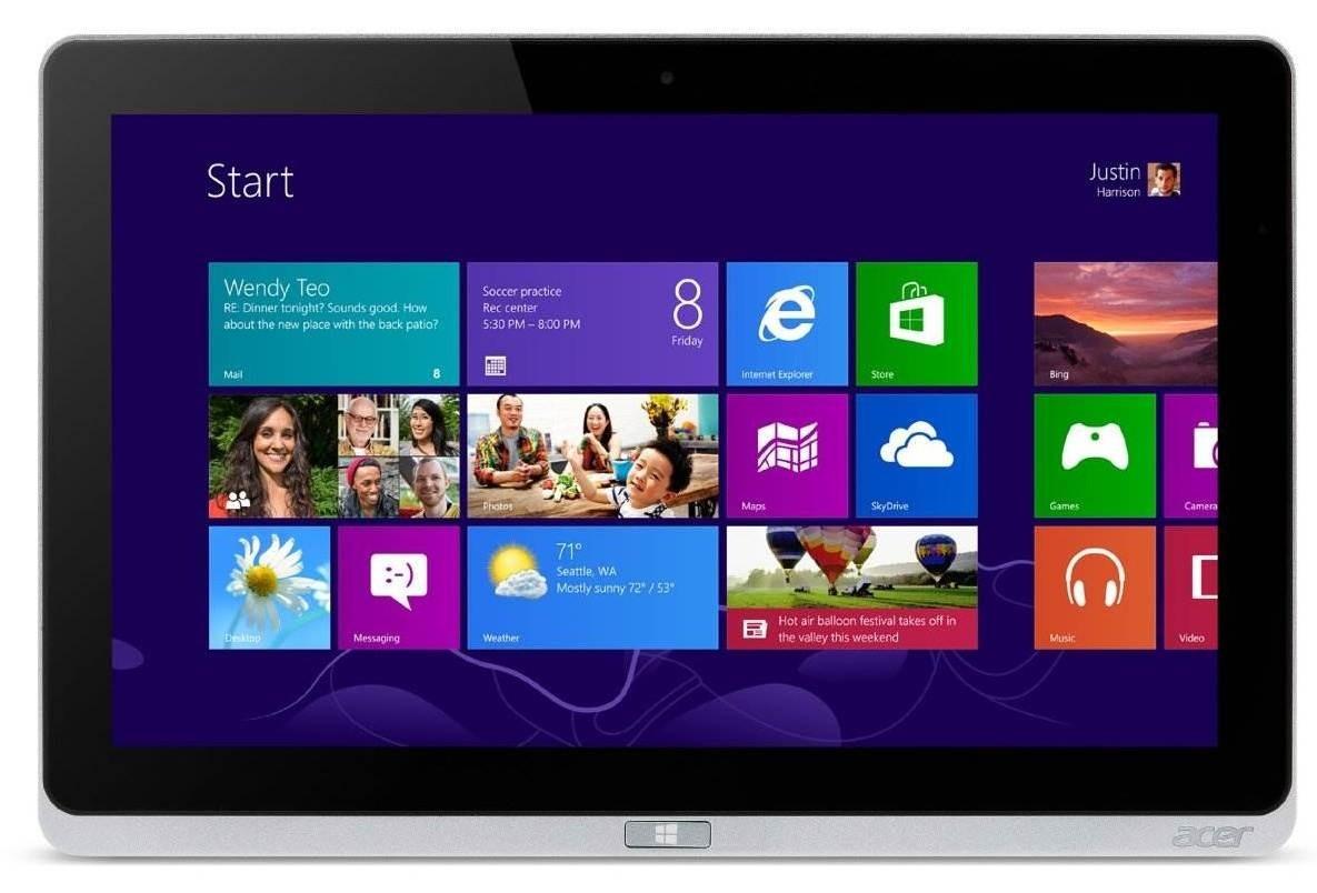 Acer Iconia Tab W700 (NT.L0QEC.003) stříbrný