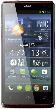"Acer Liquid E3 /4,7""/QuadCore/4GB/1GB/3G/A"