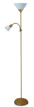 Action - Lampa, E27 (bronzová/bílá)