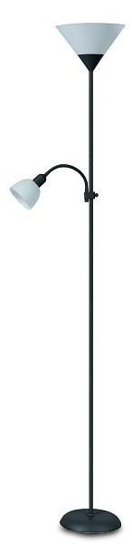 Action - Lampa, E27 (černá/bílá)