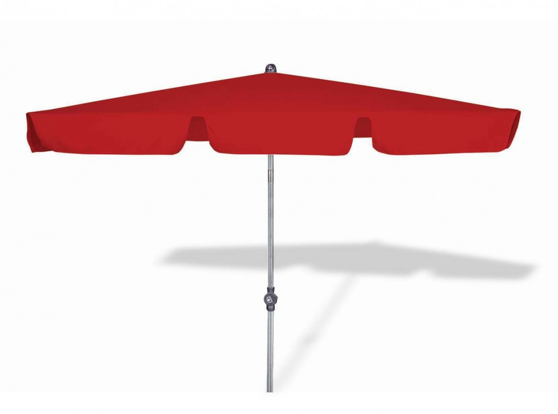 Active - Slunečník, 180 x 120 cm (červená)