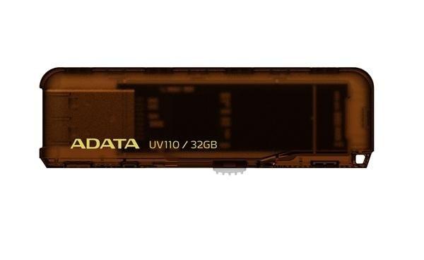 ADATA DashDrive UV110 32GB hnědý