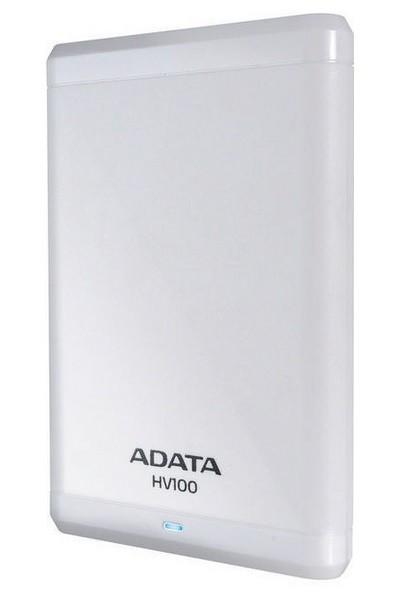 """ADATA Externí HDD 1TB 2,5 """"USB 3.0 DashDrive HV100,bílý ROZBALENO"""