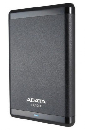 "ADATA Externí HDD 1TB 2,5"" USB 3.0 DashDrive HV100, G-sensor, čer"