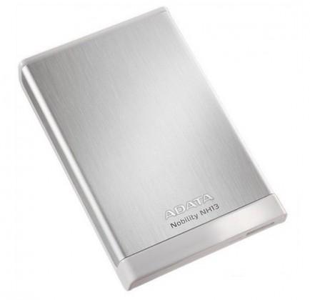 """ADATA Externí HDD 1TB 2,5"""" USB 3.0 Nobility NH13, stříbrný"""