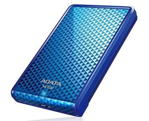 """ADATA Externí HDD 500GB 2,5"""" USB 3.0 DashDrive Choice HC630, modr"""