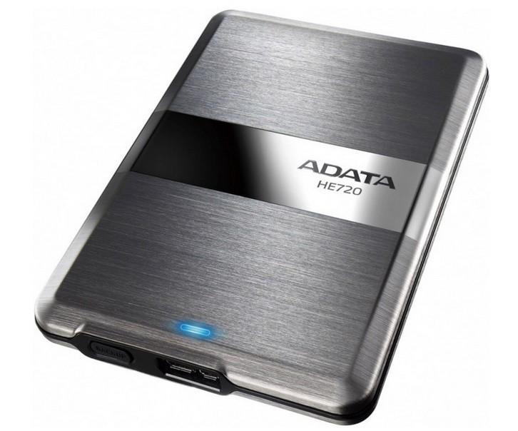 "ADATA Externí HDD 500GB 2,5"" USB 3.0 DashDrive Elite HE720, slim"