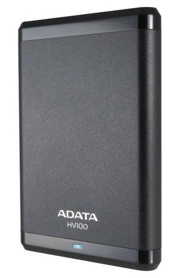"""ADATA Externí HDD 500GB 2,5"""" USB 3.0 DashDrive HV100, G-sensor, č"""