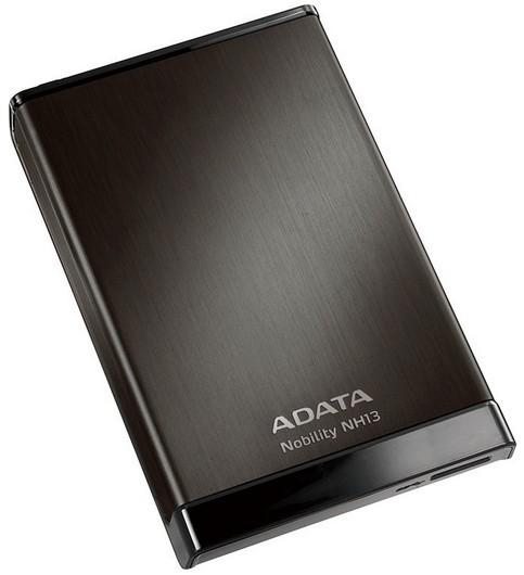"""ADATA Externí HDD 500GB 2,5"""" USB 3.0 Nobility NH13, černý"""