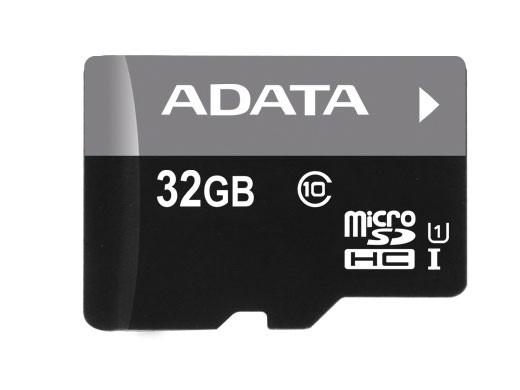 ADATA Micro SDHC karta 32GB UHS-I (Class 10) +USB čtečka v3,ROZBA