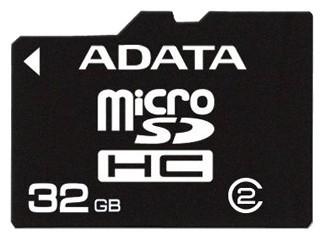 ADATA microSDHC karta 32GB (Class 4)
