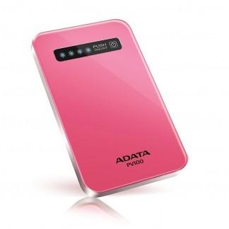 ADATA PV100 Power Bank 4200mAh, růžová
