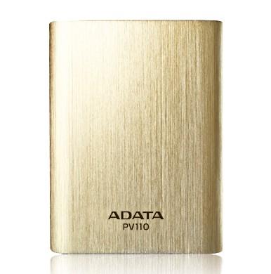 ADATA PV110 Power Bank 10400mAh, zlatá