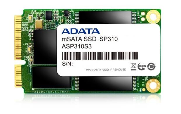 ADATA SSD 128GB Premier Pro SP310 mSATA SATA III 6Gb/s