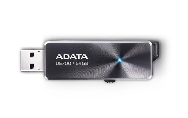 ADATA UE700 64GB, USB 3.0, černá