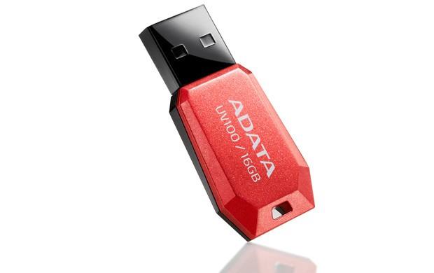 ADATA UV100 8GB, červený ROZBALENO