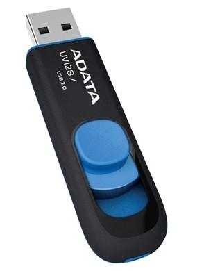 ADATA UV128 8GB, černomodrá (AUV128-8G-RBE)