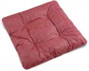 Adéla - Sedák prošívaný, 40x40 UNI (červený)