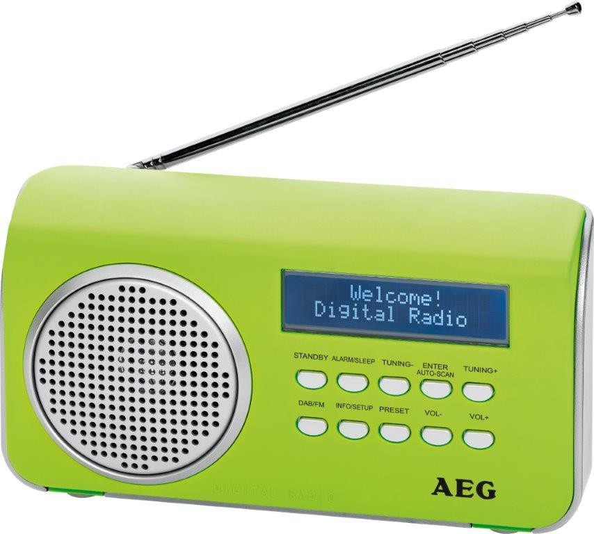 AEG DAB 4130 (Green)