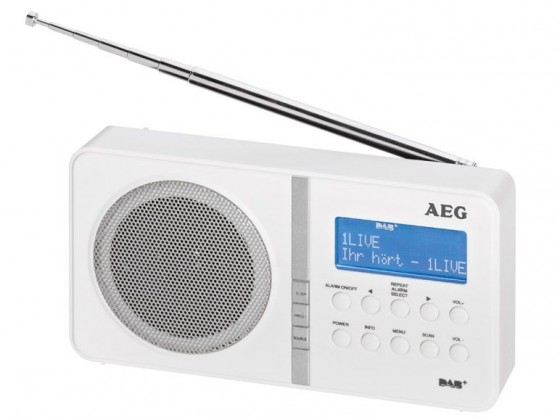 AEG DAB 4138 WH (White) ROZBALENO