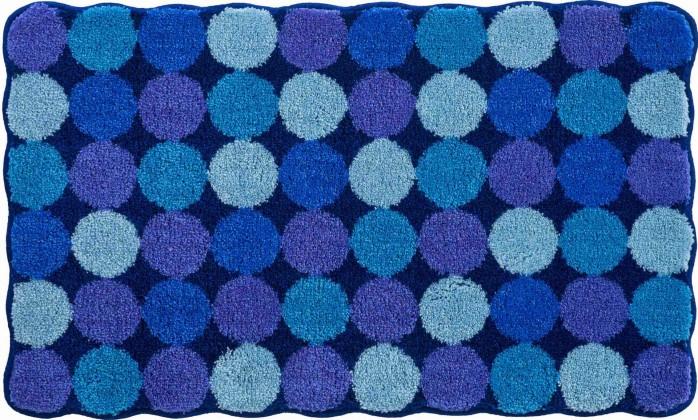 Agarthi - Koupelnová předložka 60x100 cm (modro-tyrkysová)