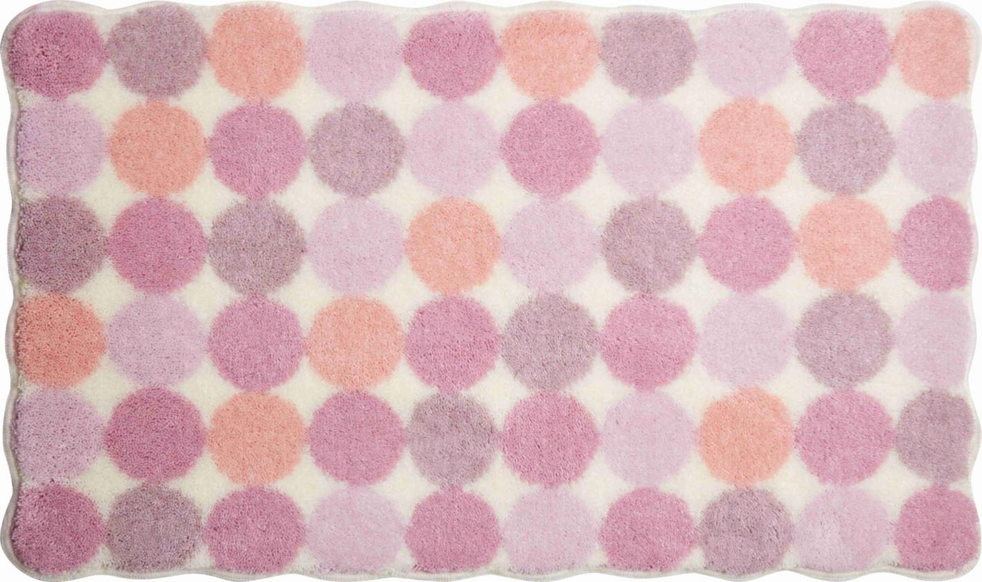 Agarthi - Koupelnová předložka 60x100 cm (růžová)