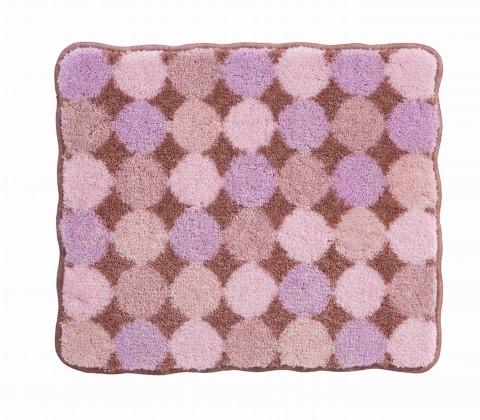 Agarthi - Koupelnová předložka malá 50x60 cm (broskvová-růžová)