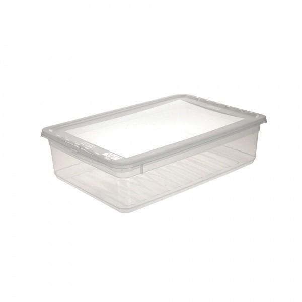AIR CONTROL-Box úložný s víkem, 11l (transparentní)