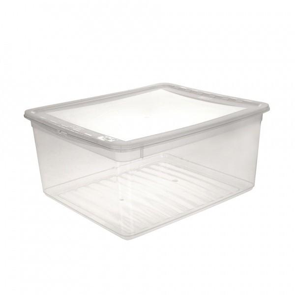 AIR CONTROL-Box úložný s víkem, 18l (transparentní)