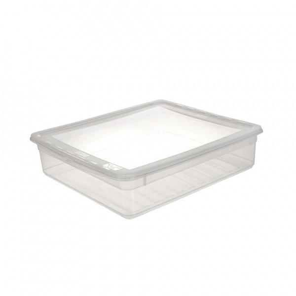 AIR CONTROL-Box úložný s víkem, 9l (transparentní)