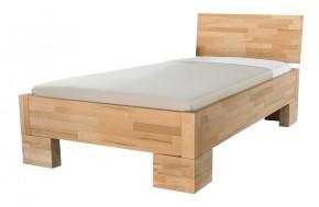 Alba - rám postele, zvýšená (rozměr ložné plochy - 200x100)