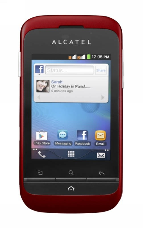Alcatel C903D třešňová (903D-2DALCZ1-S40)