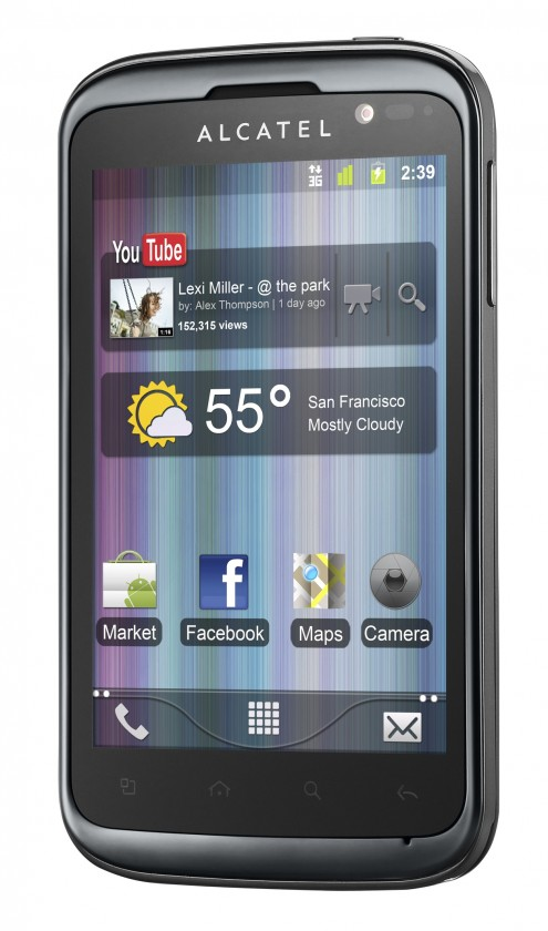 Alcatel One Touch 991D Black