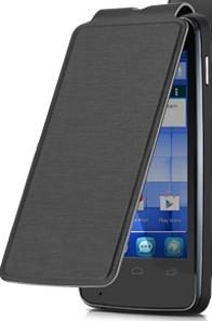 Alcatel One Touch S´POP Flip pouzdro s logem,Black ROZBALENO
