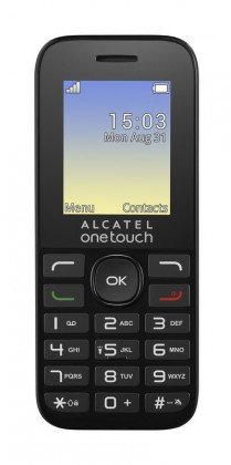 Alcatel ONETOUCH 1016G, černá