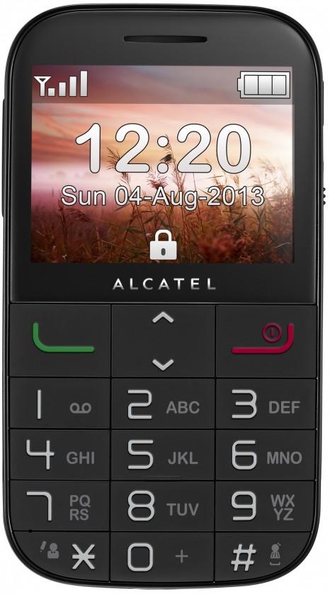 ALCATEL ONETOUCH 2000 Black ROZBALENO