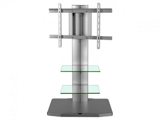 Alladyn - TV stolek s držákem (stříbrná)
